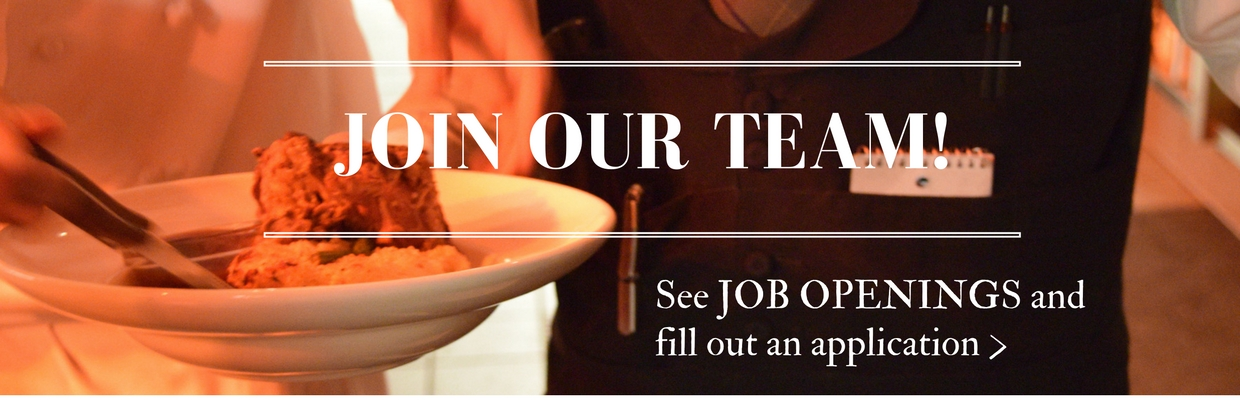 Join Our Team | We're Hiring at Quaintance-Weaver Restaurants and Hotels