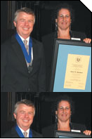 NNCJ Dennis Receives Award
