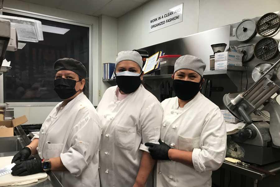 Kitchen Staff at Print Works Bistro